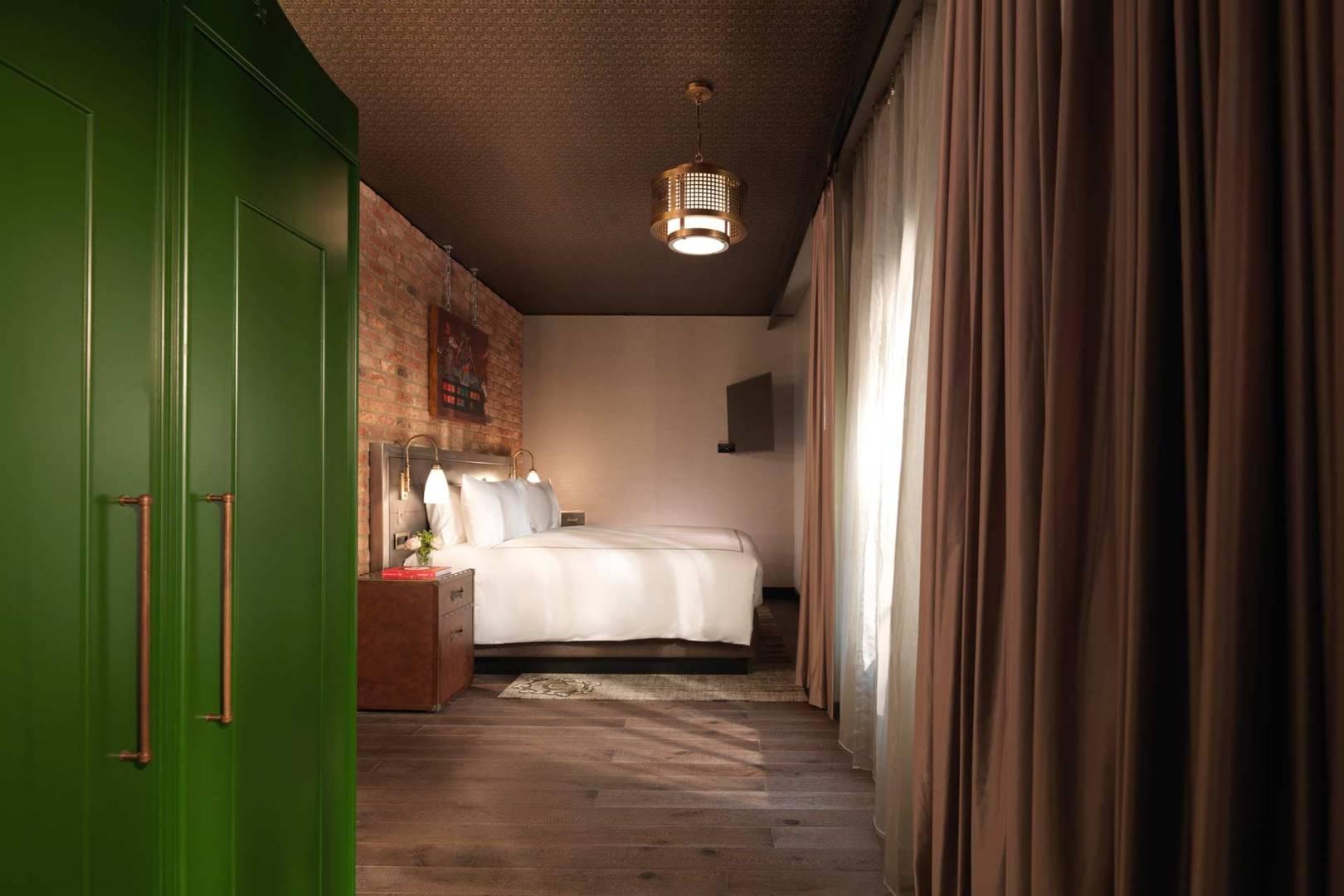 otel odası perde modlleri
