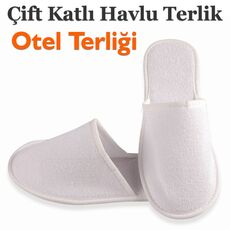 Cheap Disposable Double Layer Towel Slippers Wholesale Prices