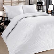 Cheap Linens Set Satin Striped Double 210 TC Wholesale Prices