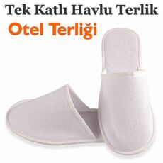 Cheap Disposable Single Layer Towel Slippers Wholesale Prices