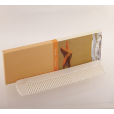 Cheap Otel Malzemeleri   White Comb Packed in Box with Logo Printed Wholesale Prices