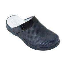 Cheap Navy Blue Weft Hollow Men Sabo Slippers, Color: Lacivert, Size: 40 Wholesale Prices