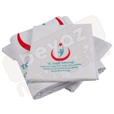 Cheap Hospital Textile   Hospital Linens Sets   Ministry of Health Logo Duvet Cover Set Wholesale Prices