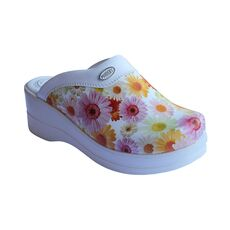 Cheap Models High Sole Floral Women's Sabo Slippers, Color: Desenli, Size: 35 Wholesale Prices